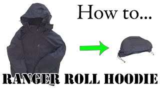 Download Army Hack: Ranger Roll a Hoodie or Hooded Jacket - Efficient Packing for Travel Video