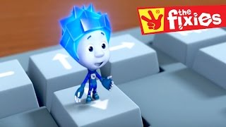 Download The Fixies English ★ The Keyboard - The Catapult - Reflexes - The Baby Monitor | Cartoons For Kids Video