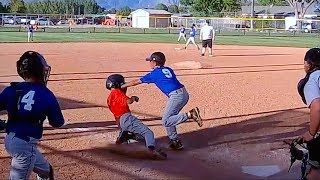 Download TAGGED IN THE FACE AT HOME PLATE IN BASEBALL GAME! Video