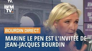 Download Marine Le Pen face à Jean-Jacques Bourdin en direct Video
