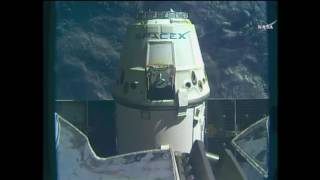 Download SpaceX CRS-10 dragon returning Video