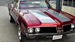 Download Oldsmobile 1969 Cutlass Convertible 442 Video