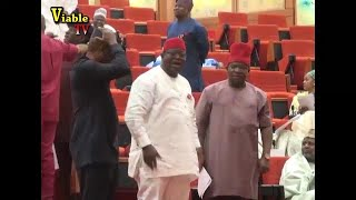 Download Chaos, As Senate Refuses To Confirm Bhari's EFCC Nominees Over Exclusion Of South-East/South Video