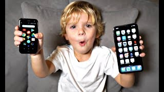 Download We Bought Tydus A Mini iPhone!! Video
