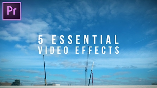 Download 5 Essential Video Effects every editor should know! (Adobe Premiere Pro CC Tutorial) Video
