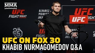 Download Khabib Nurmagomedov Says UFC Gave Him Security in Case Conor McGregor Shows Up in Calgary Video