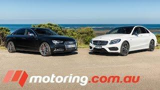 Download Audi S4 v Mercedes-AMG C43 Comparison Test | motoring.au Video