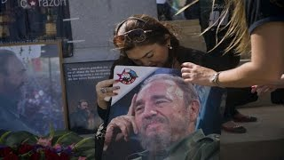 Download Cuba prepares to mourn Fidel Castro Video