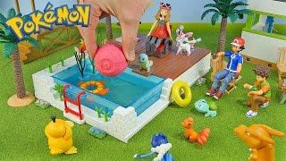 Download Pokemon Vacation - New PokeBall Bath Bomb - Surprise Toys Video