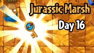 Download Plants vs Zombies 2 - Jurassic Marsh Day 16: Ultimate Battle Video