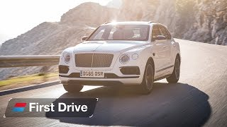 Download 2016 Bentley Bentayga first drive review Video