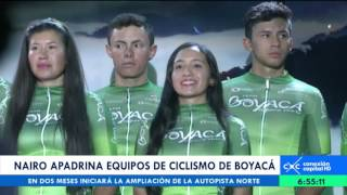 Download Nairo Quintana apadrina equipos de ciclismo en Boyacá Video