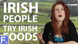 Download Irish People Try Stereotypical Irish Foods Video
