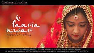 Download Beautiful Indian Muslim Wedding - Nikkah, Faaria & Nisar | Focuz Studios™ Video