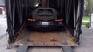 Download Lamborghini Aventador SV Delivery Video