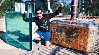 Download THOR'S HAMMER Vs. DOUBLE BULLETPROOF GLASS from 45m! Video