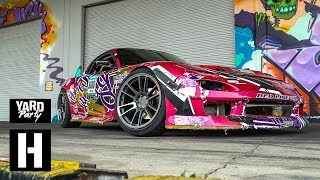 Download Mazda RX7 Gets Wrecked - Dumpster Donuts of Destruction Video