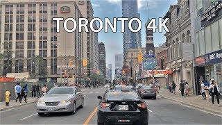Download Driving Downtown - Torontos Main Street 4K - Canada Video