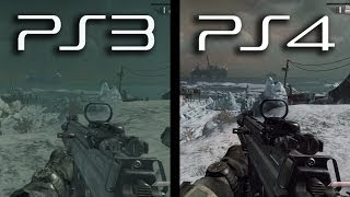 Download Ghosts: PS3 vs. PS4 Gameplay Comparison (Current Next Gen Graphics New Playstation 4 1080p HD) Video