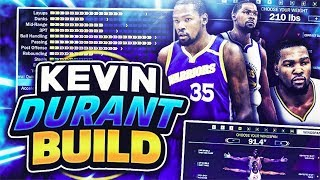 Download THE BEST BUILD ON 2K18! EXACT REPLICA OF KEVIN DURANT! NBA 2K18 Video