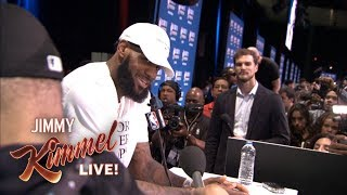 Download Guillermo at NBA All-Star Media Day 2018 – Finding LeBron Video