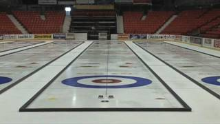 Download Making Championship Curling Ice Video