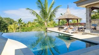Download Golf & Beach Villa in Bel Ombre, Mauritius Video
