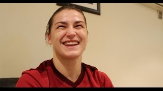 Download SENSATIONAL! - PHENOMENAL KATIE TAYLOR MAKES STUNNING PRO-DEBUT BY DESTROYING KARINA KOPINSKA Video