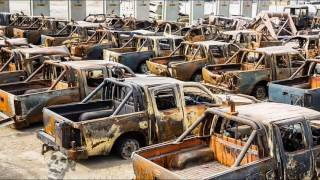 Download Creepiest Abandoned Trucks & Cars In Woods. Forgotten Machines. Abandoned Rusty Vehicles Video
