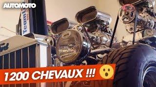 Download Un Hot Rod de 1200 chevaux ! Video