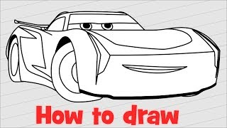Download How to draw Jackson Storm from Cars 3 Video