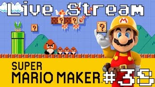 Download Super Mario Maker - Live Stream #38 (Playing Viewer Levels) Video