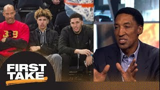Download Scottie Pippen says LaVar Ball leading kids down the wrong road   First Take   ESPN Video