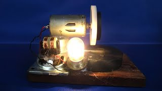 Download Free energy light bulbs generator with magnets & motor - Science projects DIY experiments easy Video