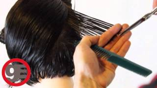 Download BOB HAIRCUT with graduation - How To Cut Graduated Bob Haircut Step By Step - Classic Graduation Video
