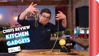 Download Chefs Honestly Review Kitchen Gadgets Vol. 9 Video