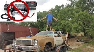 Download Loading Project Car On Trailer With No Winch? Video