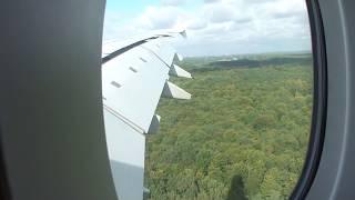 Download Airbus A380 strong crosswind landing at Düsseldorf filmed from inside - HD Video