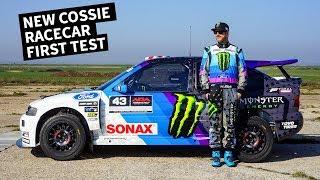 Download Ken Block Drives His New Ford Escort Cossie Racecar! Video