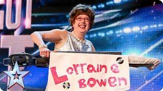 Download Golden buzzer act Lorraine Bowen won't crumble under pressure | Britain's Got Talent 2015 Video