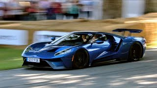 Download The last Ford GT run on Sunday at Goodwood Festival of Speed 2017 Video