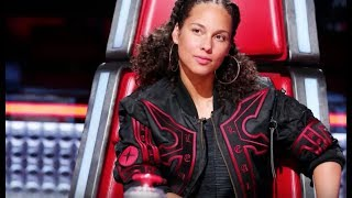 Download Alicia Keys responded to Adam Levine's no-makeup comment Video
