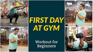 Download First Day at Gym | Workout for Beginners | Yatinder Singh Video