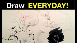 Pen & Ink Drawing Tutorials | How to shade simple forms with cross