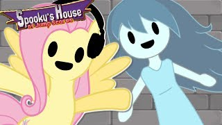 Download Fluttershy plays Spooky's House of Jumpscares 🍉 | SPOOK ON | Part 1 Video