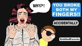 Download r/EntitledParents - I BROKE A PARENTS FINGERS! - Reddit Cringe Video