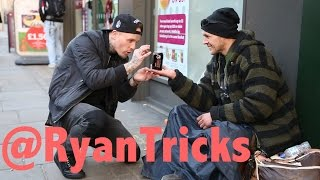 Download Magician makes Homeless man's wish come True. Video