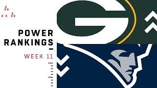 Download NFL Week 11 Power Rankings! Video