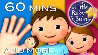 Download Finger Family | Plus Lots More Nursery Rhymes! | 60 Minutes Compilation from LittleBabyBum! Video