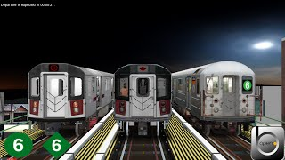 Download OpenBVE Virtual Railfanning: [WIP] R62A, R142, & R142A @ 14th Street Union Square Video